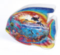 Shaped Ocean Fish in regular box -