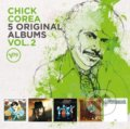 Chick Corea: 5 Original Albums Vol.2 - Chick Corea