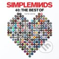 Simple Minds: 40 - The Best Of Simple Minds LP - Simple Minds