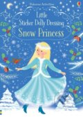 Little Sticker Dolly Dressing Snow Princess - Fiona Watt