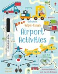 Wipe-Clean Airport Activities - Kirsteen Robson, Gareth Williams (ilustrácie)