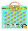 Green Start Pattern Play Wooden Puzzles -