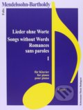 Lieder ohne Worte I / Songs without Words I - Felix Mendelssohn Bartholdy