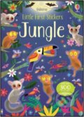 Little First Stickers: Jungle - Kirsteen Robson, Gareth Lucas (ilustrácie)