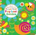 Baby's Very First Fingertrail Play book Garden - Fiona Watt