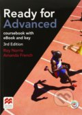 Ready for Advanced - Coursebook with eBook and MPO and Key - Roy Norris, Amanda French