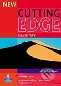 New Cutting Edge - Elementary: Student´s Book - Sarah Cunningham, Peter Moor, Frances Eales