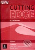 New Cutting Edge - Elementary: Workbook with Answer Key - Sarah Cunningham, Peter Moor, Frances Eales