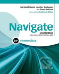 Navigate Intermediate B1+: Coursebook with OOSP Pack - Heather Buchanan, Rachael Roberts, Emma Pathare