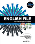 English File: Pre-intermediate - Multipack A with Oxford Online Skills - Clive Oxenden, Christina Latham-Koenig