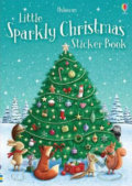 Little Sparkly Christmas Sticker Book - Fiona Patchett