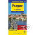 Prague - Map of Tourist Attractions /1:10 tis. -