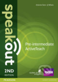 Speakout 2nd Edition - Pre-Intermediate Active Teach - J.J. Wilson, Antonia Clare