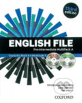 English File Pre-intermediate Multipack A with iTutor DVD-ROM - Clive Oxenden, Christina Latham-Koenig
