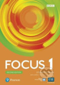 Focus 1: Student´s Book with Basic Pearson Practice English App (2nd) - Marta Uminska