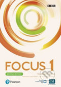 Focus 1: Teacher´s Book with Pearson Practice English App (2nd) - Patricia Reilly