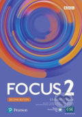 Focus 2 Student´s Book with Basic Pearson Practice English App (2nd) - Sue Kay