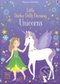 Little Sticker Dolly Dressing: Unicorns - Fiona Watt, Lizzie Mackay (Ilustrátor)