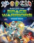 Build Your Own Space Warriors Sticker Book - Simon Tudhope, Gong Studios (Ilustrátor)