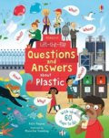 Questions and Answers About Plastic - Katie Daynes, Marie-Eve Tremblay (ilustrácie)