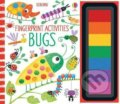 Fingerprint Activities Bugs - Fiona Watt, Candice Whatmore (ilustrácie)