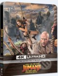 Jumanji: Další level  Ultra HD Blu-ray Steelbook - Jake Kasdan