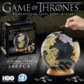 Puzzle Game of Thrones 3D Globe -