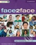 Face2Face - Upper Intermediate - Student's Book with CD-ROM/Audio CD - Chris Redston, Gillie Cunningham