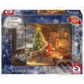 Santa Claus is here! - Thomas Kinkade