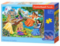 Princesses in Garden -