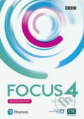 Focus 4 Teacher´s Book with Pearson Practice English App (2nd) - Sue Kay