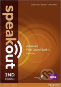 Speakout 2nd Edition Advanced Flexi 1 Coursebook - J.J. Wilson, Antonia Clare