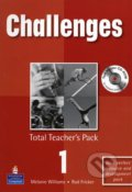 Challenges 1: Total Teacher's Pack - Melanie Williams a kolektív