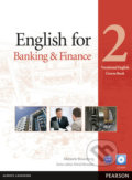 English for Banking and Finance 2 Coursebook w/ CD-ROM Pack - Marjorie Rosenberg