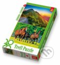 A Sunset in the Tatra Range / A Heard of Horses - 2 v 1 -