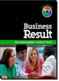 Business Result DVD Edition Pre-intermediate Student´s Book + DVD-ROM Pack - David Grant , Jane Hudson