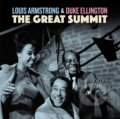 Louis Armstrong: Great Summit LP Blue Coloured - Louis Armstrong