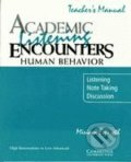 Academic Listening Encounters: Human Behaviour - Miriam Espeseth