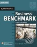 Business Benchmark - Upper Intermediate BEC Vantage Edition - Guy Brook-Hart