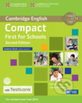 Compact First for Schools Student´s Book without Answers with CD-ROM with Testbank - Barbara Thomas