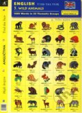 English - Find the Pair 5. (Wild Animals) -