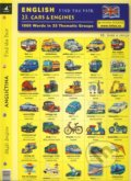 English - Find the Pair 23. (Cars & Engines) -