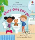 Where Does Poo Go? - Katie Daynes, Daniel Taylor (ilustrátor)