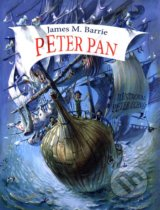 Peter Pan - James Matthew Barrie, Peter Uchnár (ilustrácie)