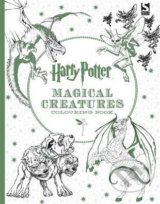 Harry Potter Magical Creatures Colouring Book -