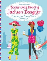 Sticker Dolly Dressing Fashion Designer - Fiona Watt, Stella Baggott (ilustrácie)