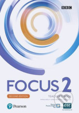 Focus 2: Teacher´s Book with Pearson Practice English App (2nd) - Sue Kay