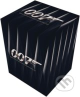 James Bond: štýlový BOX na DVD -