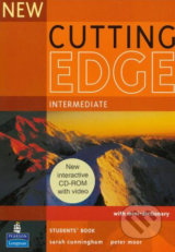 New Cutting Edge - Intermediate: Student's Book with CD-ROM - Sarah Cunningham, Peter Moor
